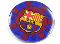 FCB poker chip badge