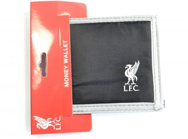 Black Liverpool velkro pung (god kvalitet)