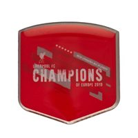 Champins of Europe Liverpool pin