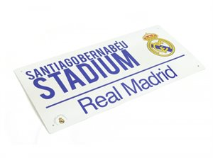Real Madrid  skilte og flag