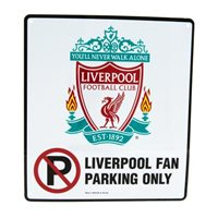 Liverpool fan parking only (crest)