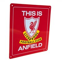 This Is Anfield / metal skilt